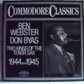Ben Webster Don Byas - Two kings / London