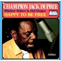 "Champion Jack Dupree ‎– Mickey Baker & Hal Singer ""Happy To Be Free"" /CRESENDO"