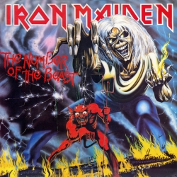 Iron Maiden ‎– The Number Of The Beast /JUGOTON