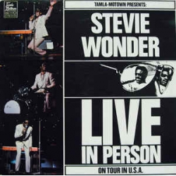 Stevie Wonder - Live In Person On Tour In USA / Motown