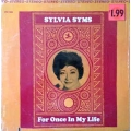Sylvia Syms - For Once In My Life / Prestige