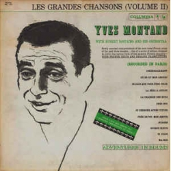 Yves Montand - Grandes Chansons Volume II / Adventures In Sound