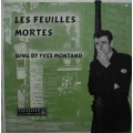Yves Montand - Les Feuilles Mortes / Parlophone