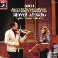 Bach : Concerto for Two Violins - Anne Sophie Mutter , Salvatore Accardo