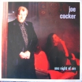 Joe Cocker ‎– One Night Of Sin