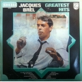 Jacques Brel ‎– Greatest Hits